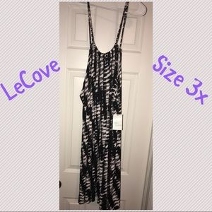 NWT LeCove Size 3x Bathing Suit Coverup